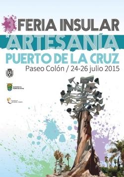 Puerto de La Cruz : Feria Insular de Artesanía 2015