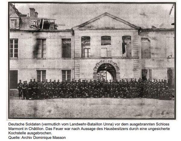 """""""La surprise de Châtillon"""" ...vue du côté prussien !"""