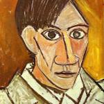 Arts visuels portrait picasso CE1