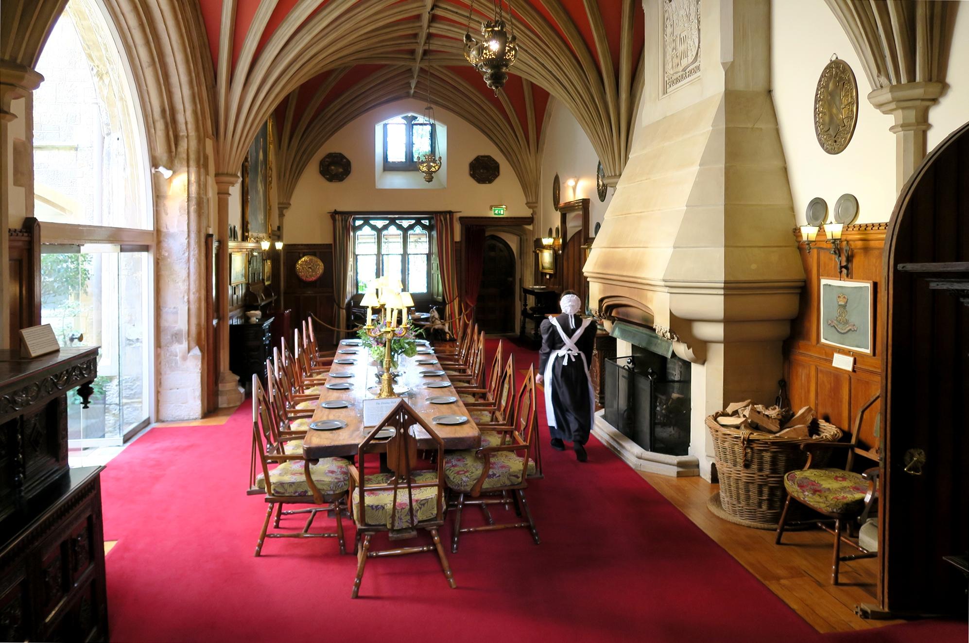 BEAULIEU #2 Palace House : La grande salle à manger