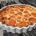 tarte aux abricot et nougat