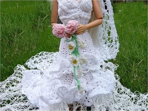 Ma Barbie mariée :Enjolyce..