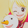 Icones Natsu&Lucy de fairy tail ( demande de Diamant blanc)