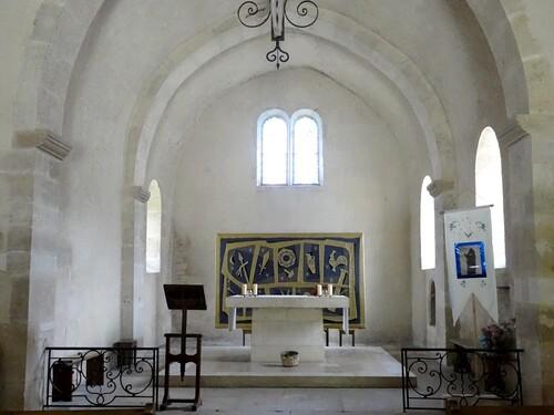 L'église de Quemigny sur Seine