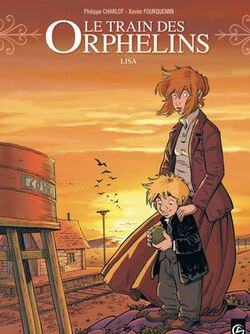 BD : Le train des orphelins, tome 3