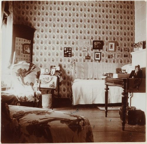 Interior of Anna Vyrubova's house