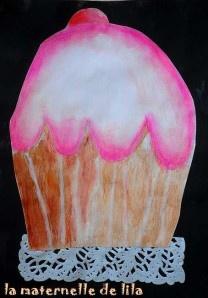 cupcake 2 lila