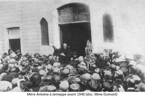 Mère Antoine à Jemeppe avant 1940 (doc. Mme Dumont)