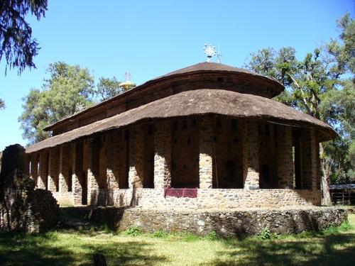 l'église orthodoxe de Debré Birhan Sélassié