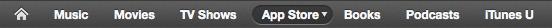 Types de contenu de l'iTunesStore