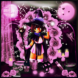 Halloween rose horloge code inclu