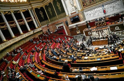L'Assemblée nationale, le 6octobre.