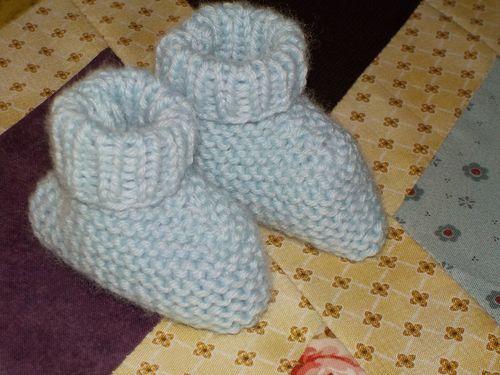 Petits chaussons.