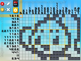 Manaphy Pokémon Picross