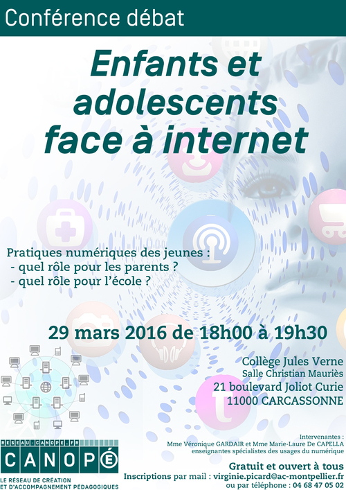 Enfants et adolescents face à internet
