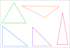 Polygones et triangles