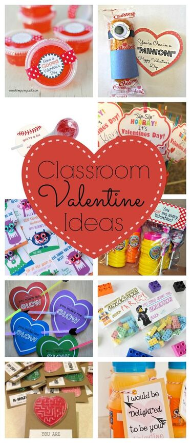 Classroom Valentine Ideas...Every year I am on the look out for fun and creative Classroom Valentine Ideas. Here are a few of my favorite ones I have seen this year.: