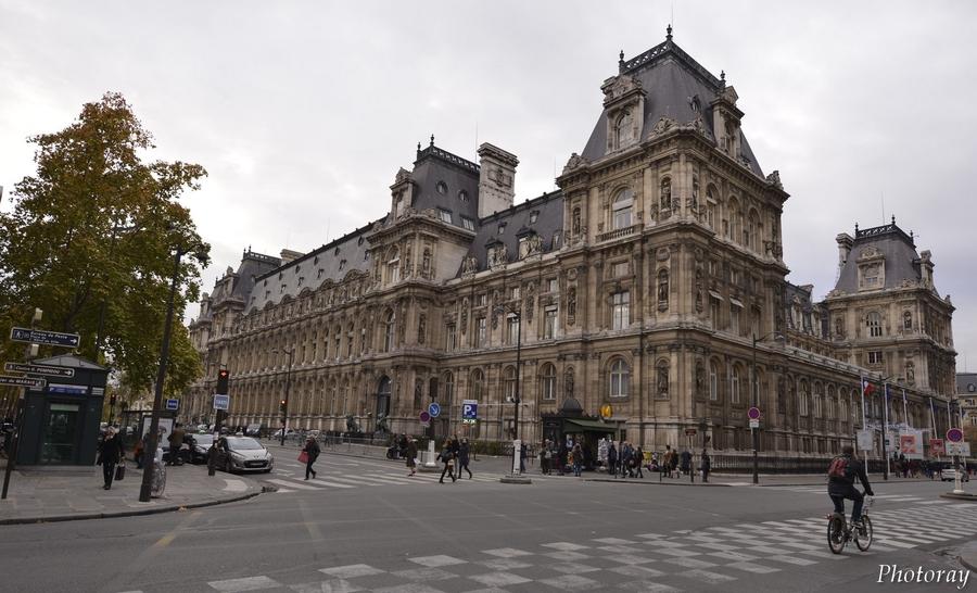 Paris - Paris - Île de France - Hotel de Ville