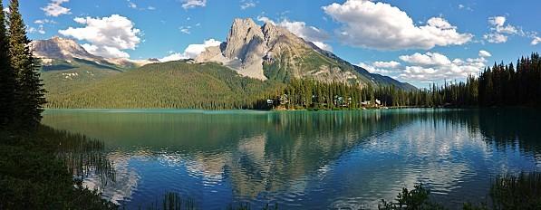 Emerald Lake Panoramique