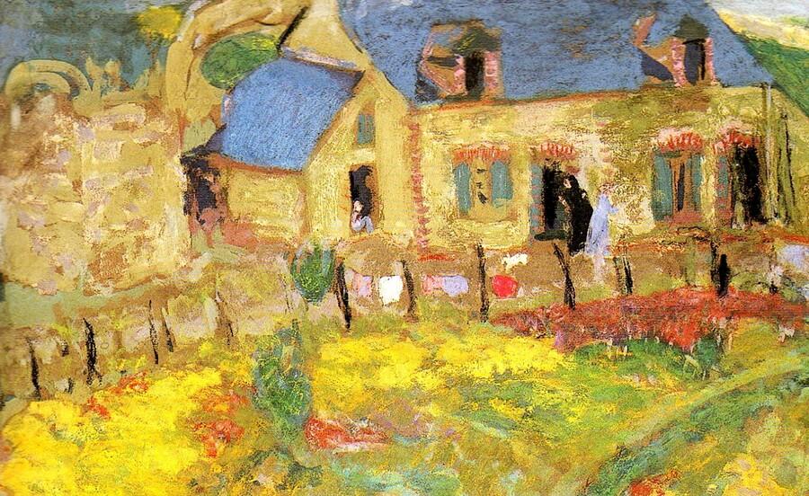 2 / St Cast / 1909-maison bretonne -Vuillard