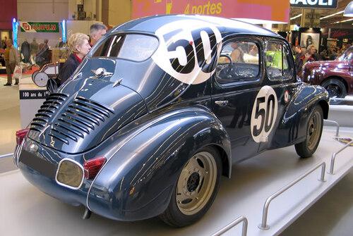 La 4 CV Renault aux 24 heures du Mans
