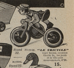 A410 Le tricycle (GARCIN JO)