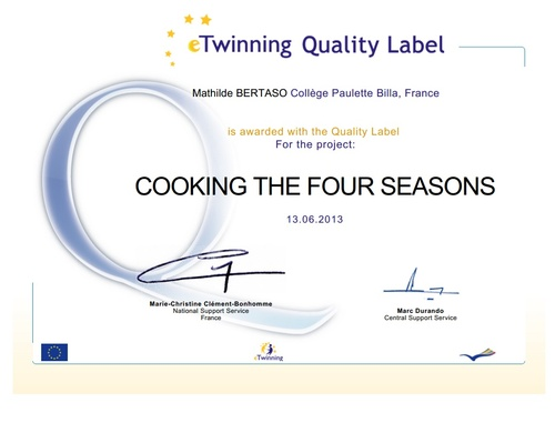 National and European Quality Labels