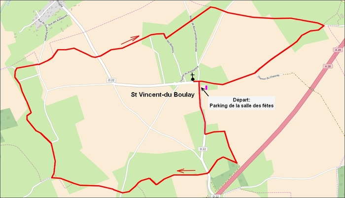 Le chemin du Bois des Bruyères