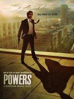 Powers - Saison 1 [Complete] Dans un monde où les super-pouvoirs sont relativement communs, et pas particulièrement héroïques, deux inspecteurs de police, Christian Walker et Deena Pilgrim, sont spécialement chargés des crimes impliquant des pouvoirs hors normes...