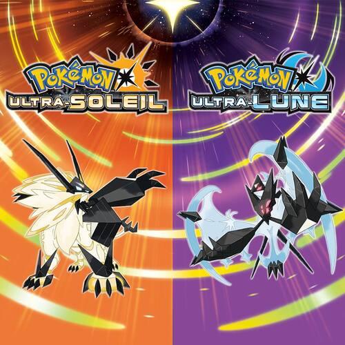Les nouveaux jeux Pokémon.