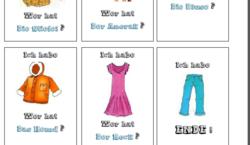 Leçon 5 Kleidung