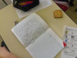 Ecrire avec ses 5 sens