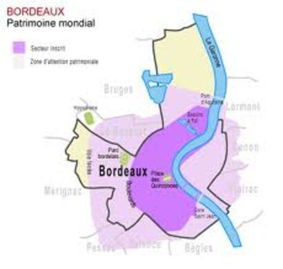 Bordeaux, inscrit au patrimoine mondial de l' UNESCO