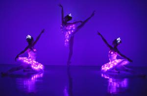 dance ballet dancers lights