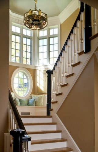 Dans les escaliers - Aménagement 10