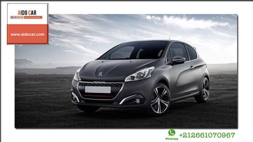 Réservez la Peugeot 208 diesel chez Aido Car Casablanca