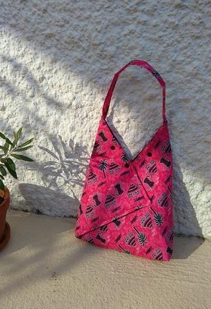 sacs origami: petit, moyen et grand modèles