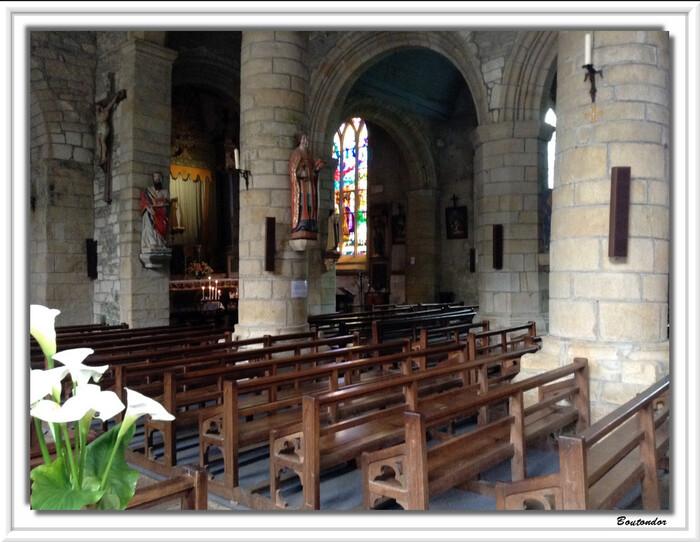 Rochefort-en-Terre : l'église