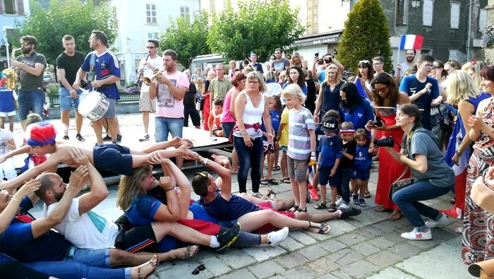 Une demi-après le sacre des bleus, Allevard aussi, été en fête !