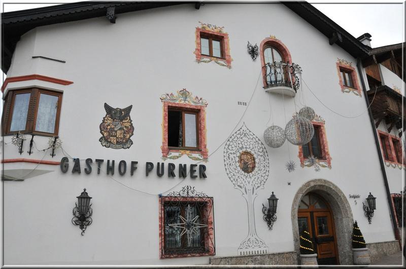 Autriche : restaurant Purner à Thaur