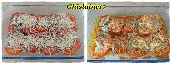 Gratin de poisson à la tomate