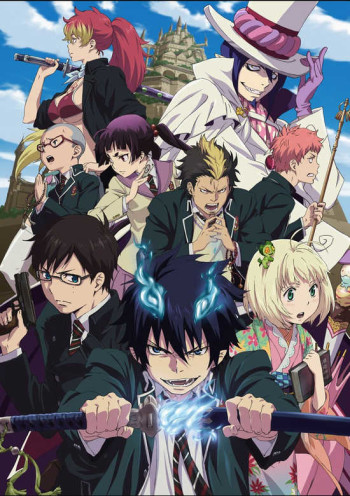 Ao no Exorcist انمي