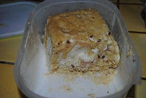 Glace aux noix de pécan et au sirop d'érable et Nougat Glacé
