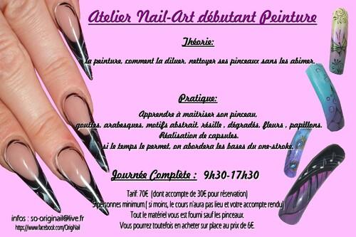 Du nouveau...les Ateliers Nail-Art !