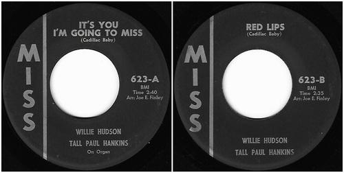 Willie Hudson Tall Paul Hankins
