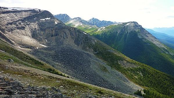Jour 19 Jasper Tramway vue sur montagnes