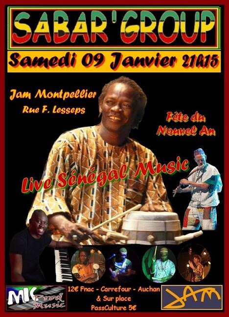 ★ Fodé Diop & Sabar' Group au Jam [9 Janvier 2016]