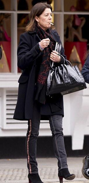 Caroline à Londres
