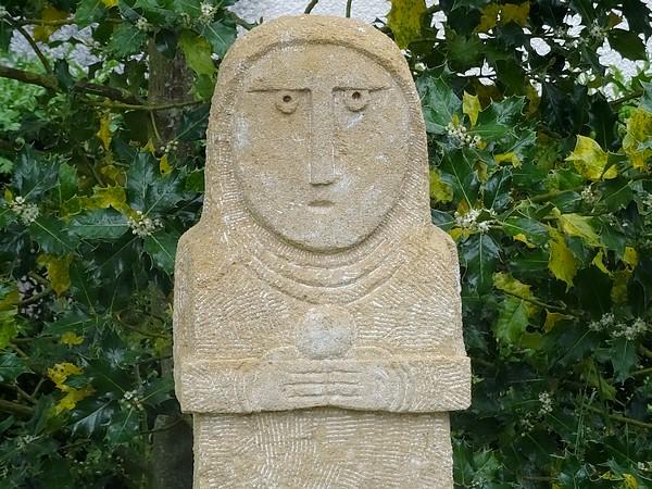 Eric de Laclos, sculpteur à Champagny...