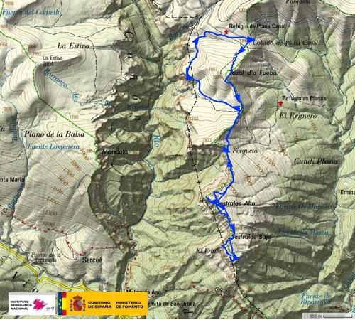 Vallée d'Anisclo : les Sestrales
